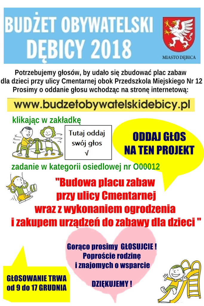 plakat budżet obywatelski 2